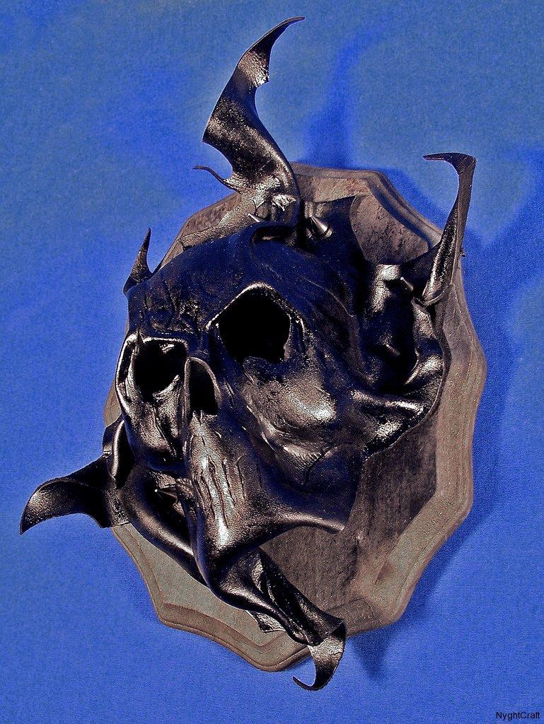 Skull Wall Plaque