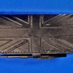 Union Jack Checkbook Cover