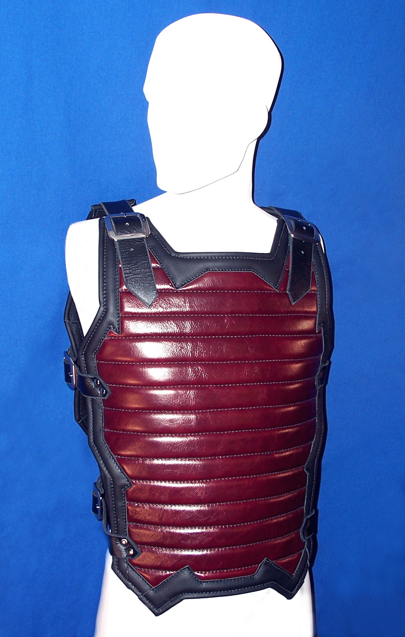 Red Industrial Padded Top (Front)