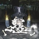 Tribal Skull Topper