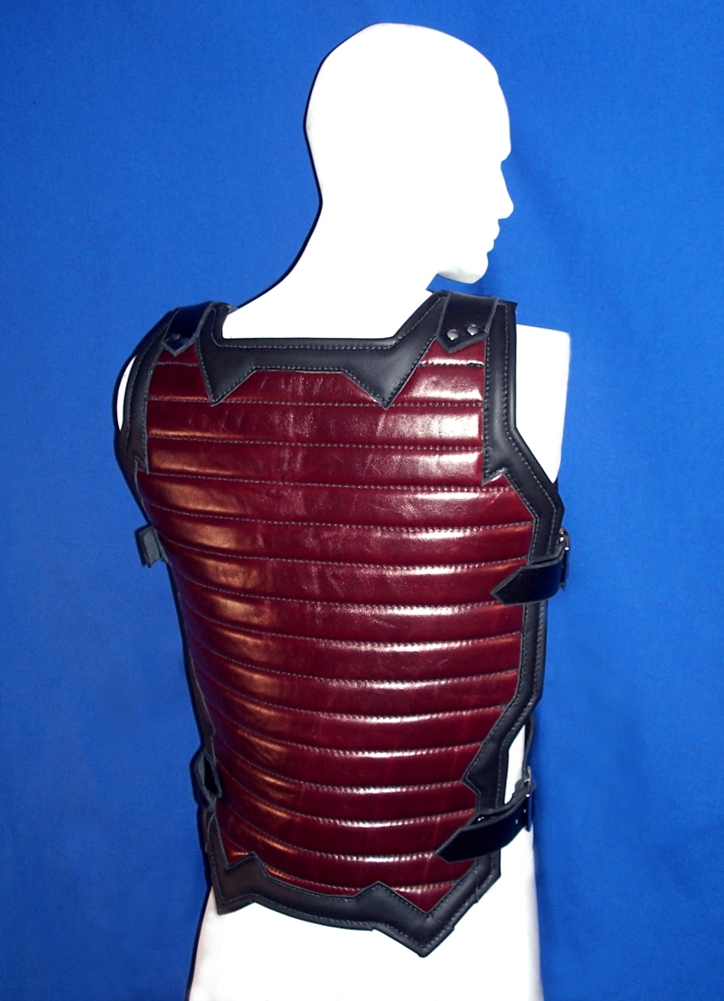 Red Industrial Padded Top (Back)